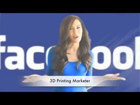 FaceBook Marketing Done For You - 3D Printing Marketer