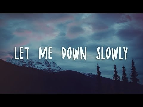 Alec Benjamin - Let Me Down Slowly (Lyrics)
