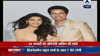 ABP-Actress Asin-Rahul getting married on Jan 23rd in Delh..