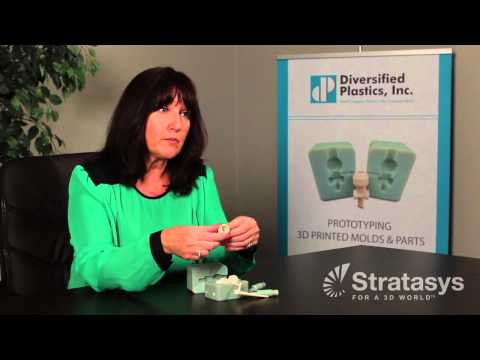 Diversified Plastics Customer Story for Stratasys Objet260 PolyJet 3D Printer