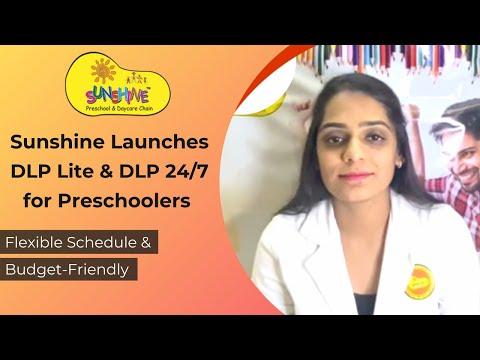Sunshine Launches DLP Lite & DLP 24/7 for Preschool Students
