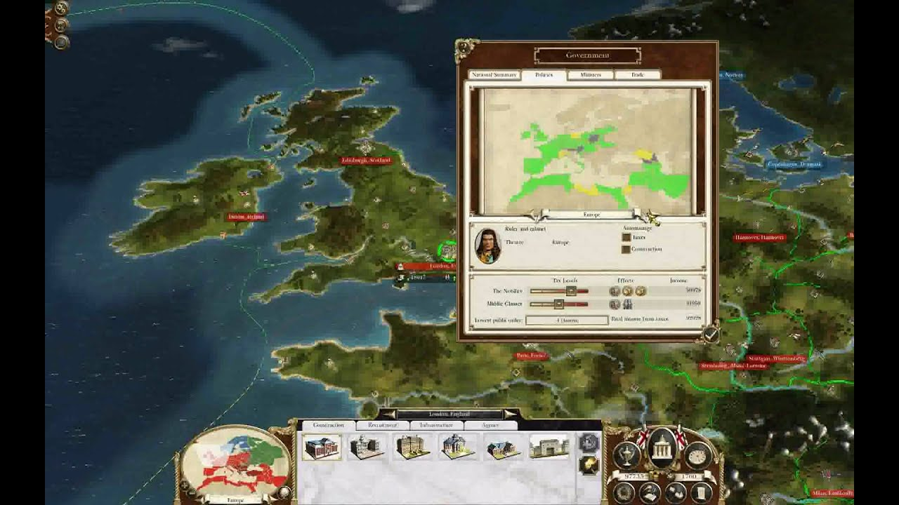 empire total war- almost world domination - YouTube