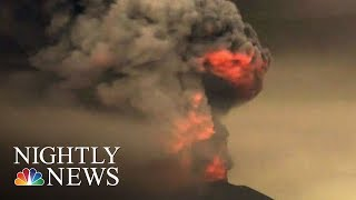 Bali Volcano Eruption Upgraded To Highest Alert | NBC Nightly News