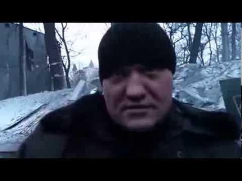 Евромайдан: Чемпион мира и призер Олимпиады Денис Готфрид стоит в рядах Беркута