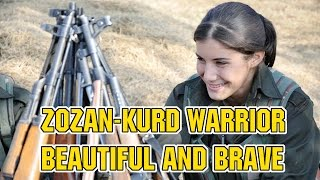ZOZAN,THE BEAUTIFUL KURD WARRIOR Christians Hope