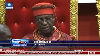 Oba Of Benin Visits Olu Of Warri In Historic Move