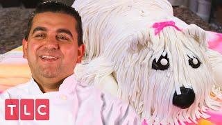 Making a Dog-Shaped Cake! | Cake Boss