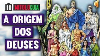 A Origem dos Deuses - MITOLOGIA GREGA