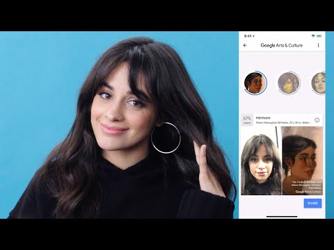 Camila Cabello, Elle Fanning & Aja Naomi King Find Their Google Arts & Culture Look-Alikes | Glamour