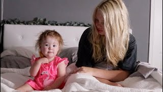16yr old mom & toddler morning routine