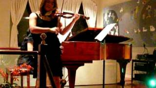 Michelle Kim and Sung Han's performance at the residence of the Korean Consulate in NY