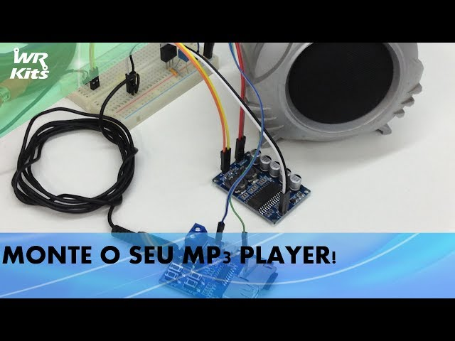 MONTE O SEU MP3 PLAYER!
