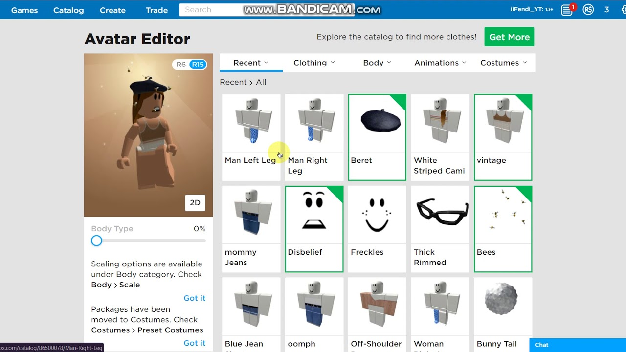 How To Get Thick Legs In Roblox