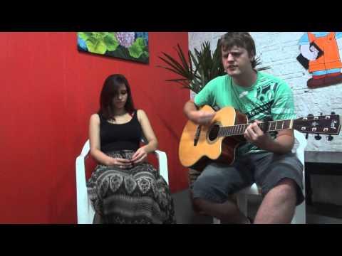 Baixar Caia Fogo - Fernandinho (Acustico cover Greg e Bih)