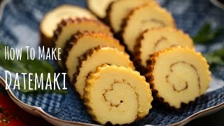 How to Make Datemaki (Sweet Rolled Omelette)