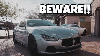 Make sure you know this before buying a Maserati Ghibli (JUNK)