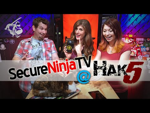 Hak5 Studio Takeover During RSA 2016