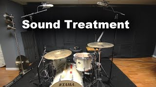 Sound Proofing My Drum Studio With Acoustic Blankets (Vocal Booth To Go)