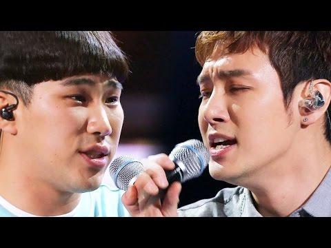 환희·경남대 맹구, 거친 샤우팅으로 무대 폭발 '남자답게' 《Fantastic Duo》판타스틱 듀오 EP12