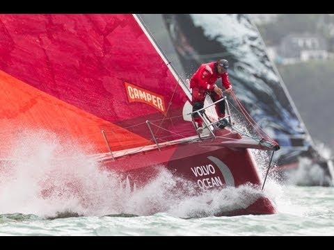 Volvo Ocean Race - Auckland In-Port Race Live Replay 2011-12