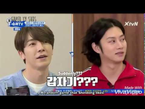 (Super TV) Super Junior playing Santa Maria Dance.. it's so chaotic 😂😂