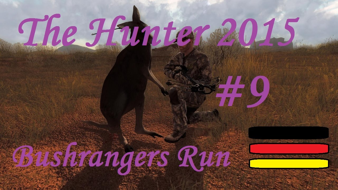 Auf der Jagd mit Carl Let's Play The Hunter 2015 #9 Bushrangers Run (Rotes Riesenkänguru) 1/5