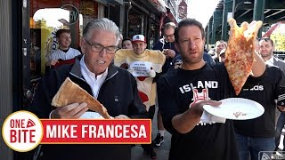 (Mike Francesa) Barstool Pizza Review - Justin's Pizza (Bronx)