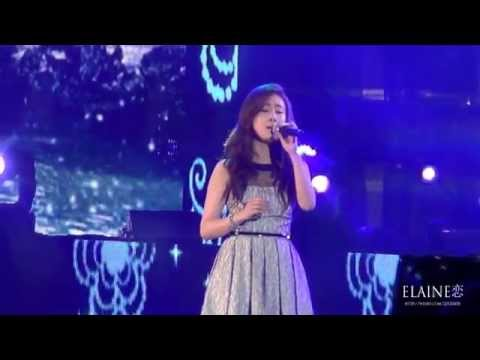 2014.04.20 Best of Best in Nanjing - Zhang Liyin & EXO-M's Chen - 呼吸 (Breath) Fancam
