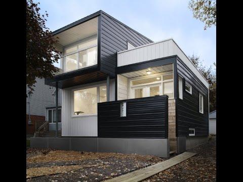 Sencilla casa de dos pisos con planos y dise o interior for Casa moderna minimalista 6 00 m x 12 50 m 220 m2