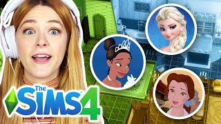 The Sims 4 But Every Room A Different Disney Princess Challenge