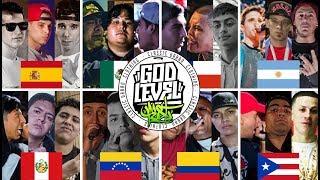 Los 8 EQUIPOS CLASIFICADOS a la GOD LEVEL FEST 2018 ¡3vs3!