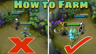 How to Farm Like a Pro | Full Explained | Mobile Legends