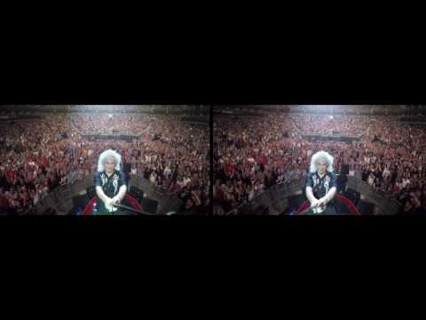 @DrBrianMay Selfie Stick Video |3D| Kansas City, USA [July 9, 2017] Queen + Adam Lambert
