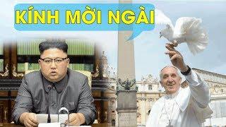 Lạnh tụ Kim Jong-un gửi thư mời Đức Giáo Hoàng thăm Bình Nhưỡng - Đang có âm mưu gì?