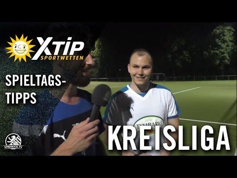 XTiP Spieltagstipp mit Youssef Fakhro und Nico Priebe (SC Union Südost) - 2. Spieltag, Kreisliga B, Staffel 4   SPREEKICK.TV