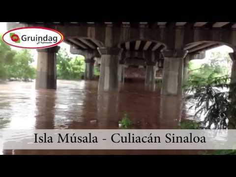 Huracán Manuel - Isla Músala (Culiacán)