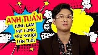 Diễn viên Anh Tuấn từng làm phi công khi yêu người lớn tuổi hơn tận 3 năm 😆