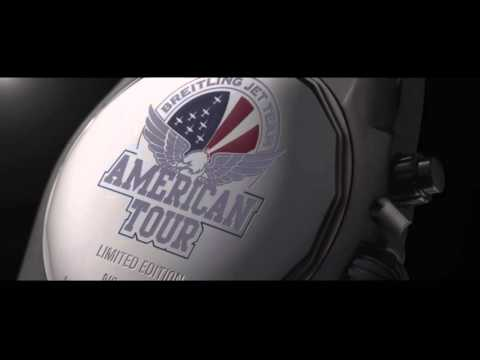 Breitling Watch Commercial - The Breitling Jet Team American Tour Limited Edition Watches