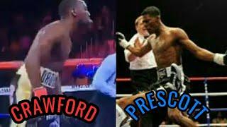 Terence Crawford vs Breidis Prescott Fight Highlights Best Moments
