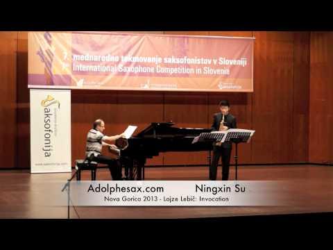Ningxin Su - Nova Gorica 2013 - Lojze Lebič: Invocation
