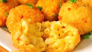 Fried Mac and Cheese Balls | Macaroni and Cheese | Cheese Balls | Cheesy Snacks