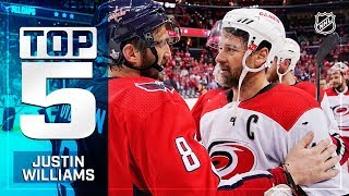 Top 5-ish Justin Williams plays from 2018-19