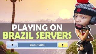 WHEN DAEQUAN PLAYS ON BRAZIL SERVERS...