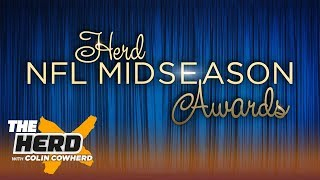 Colin Cowherd hands out his NFL midseason awards | NFL | THE HERD