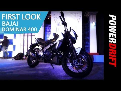 Bajaj Dominar 400 : First Look : PowerDrift