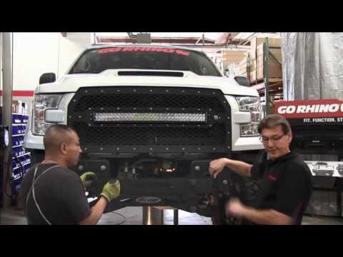 Go Rhino BR5 Front Bumper Installation