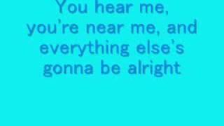 Connected Lyrics- Sara Paxton