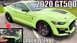 In DETROIT w/ GRABBER LIME 2020 SHELBY GT500!