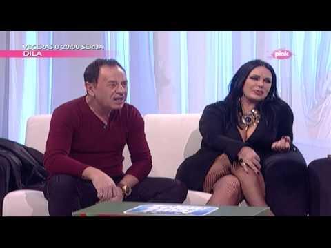 Mile Kitic i Marta Savic - Nedeljno popodne Lee Kis - (RTV Pink 2015)
