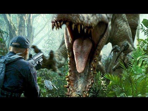 Hunting The Indominus Rex - Camouflage Scene - Jurassic World (2015) Movie Clip HD